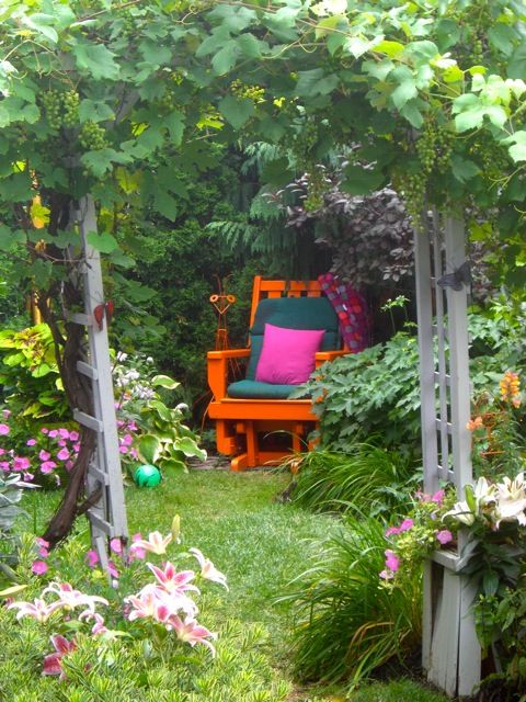 get away space: Gardens Seats, Life Is Beautiful, Backyard Nooks, Secret Gardens, Gardens Patio, Quiet Places, Reading Nooks, Gardens Chairs, Reading Spots