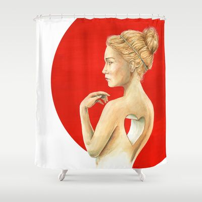 Vacancy  Shower Curtain by Stephane Lauzon - $68.00