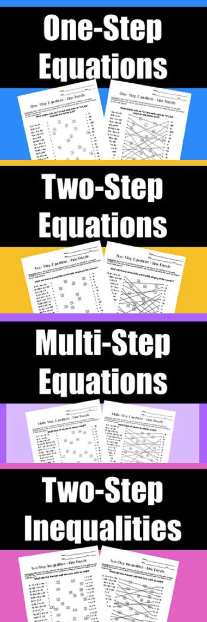 Worksheet Word Best  Algebra Games Ideas Only On Pinterest  Good Math Games  Learning The Time Worksheets Pdf with Pronoun Worksheet For Grade 3 Excel Algebra Activity Worksheets Onestep Equations Twostep Equations Mult Brain Teasers Worksheets Pdf