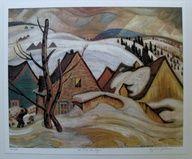 Group Of Seven Ltd Art Print - St Tite des Caps - A. Y. Jackson |  $42.99