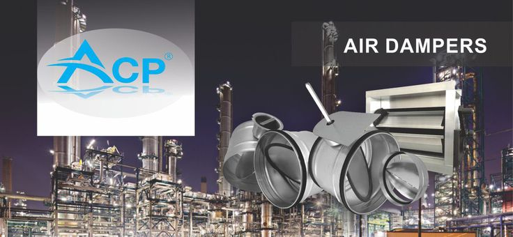 Air Dampers for HVAC systems