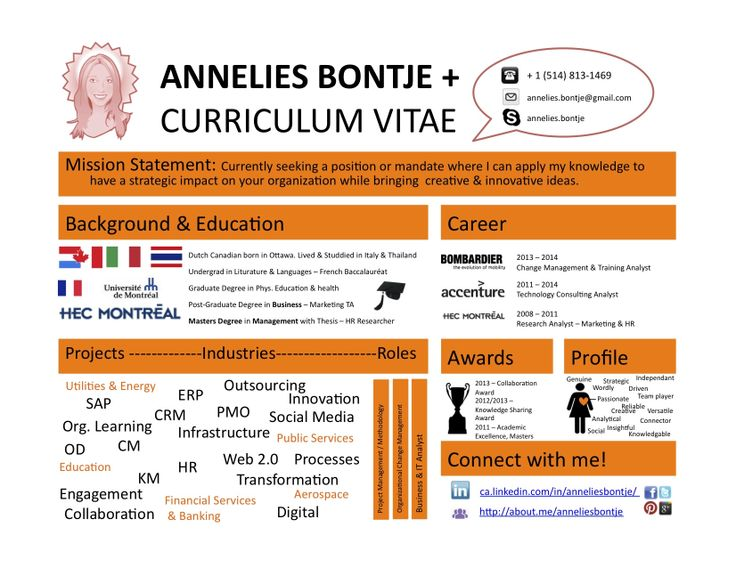 Work In progress. Infographic CV I am making for myself. Comments are welcome! Thanks