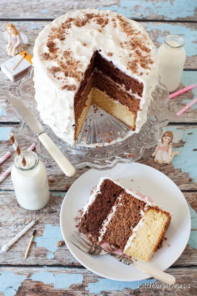 Chocolate sponge cake recipe 4 eggs