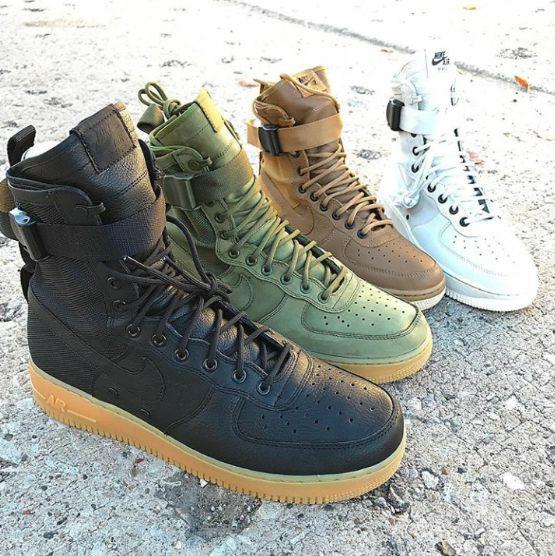 Nike Special Field Air Force 1 #nike #nikeair #specialfield #airforce