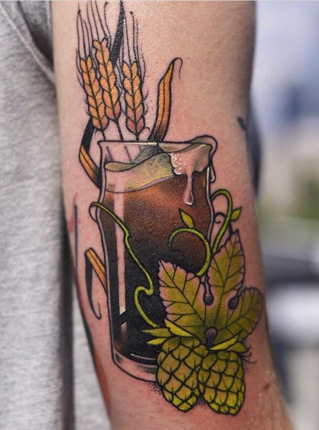 25 best ideas about hop tattoo on pinterest beer hops barley beer and barley plant. Black Bedroom Furniture Sets. Home Design Ideas