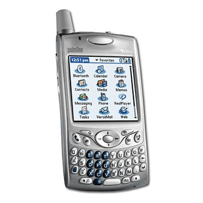 Palm Treo 650...I owned a darker plastic version of this modelPalms Treo, Treo 650 I