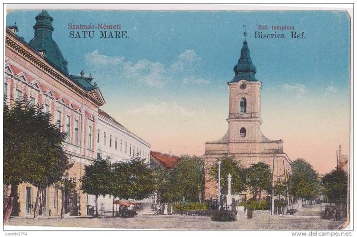 Satu Mare - Biserica Reformata - interbelica