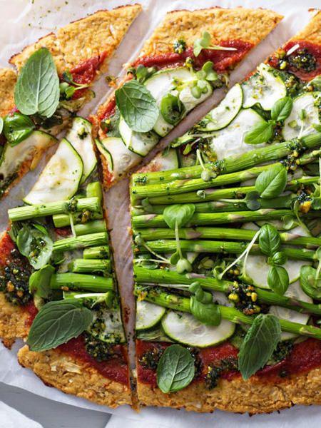 dinner cauliflower pizza