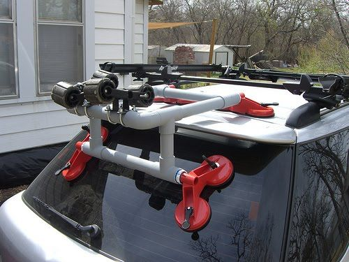 小J 釣魚BLOG: 自己動手做獨木舟輔助上下載具 DIY Kayak Loader