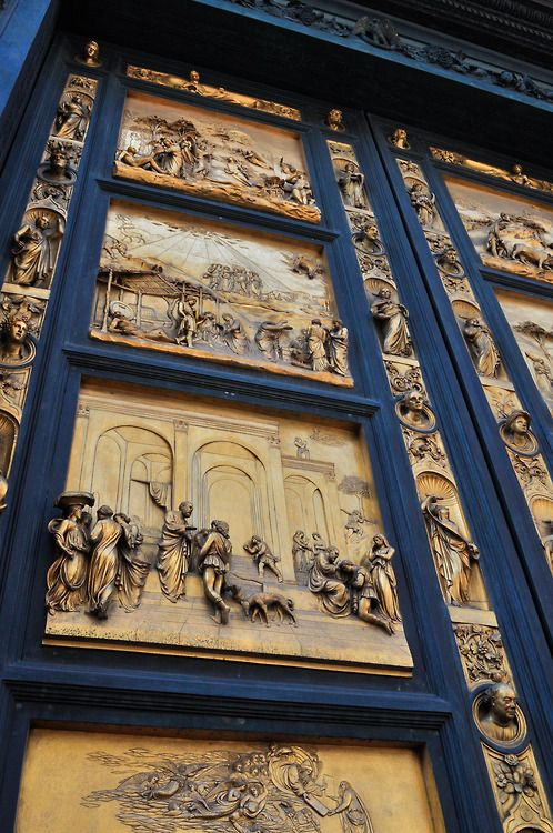 The Doors - Florence, Italy. Even more beautiful in person than a picture can portray...