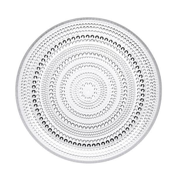 Kastehelmi plate by Iittala. Design by Oiva Toikka.