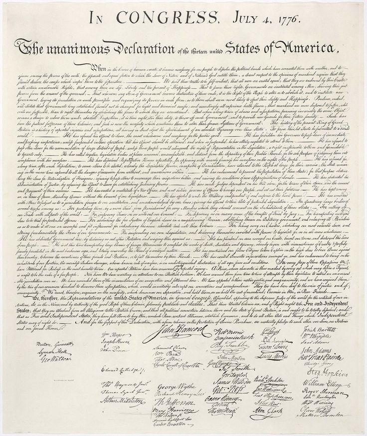 United States Declaration of Independence - Wikipedia