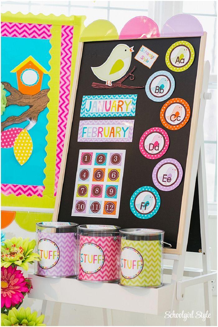 Classroom Decor Birds : Best classroom theme ideas images on pinterest