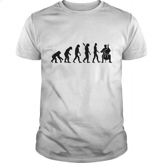 Evolution Cello - custom hoodies #shirt #Tshirt