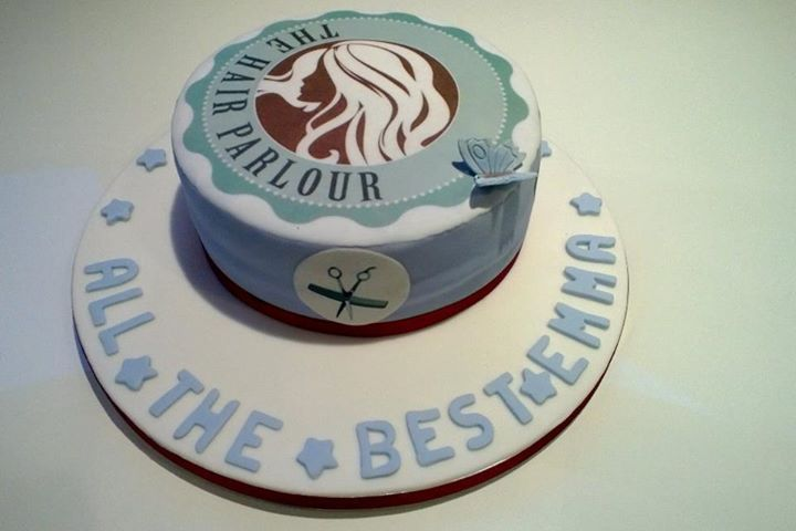 The Hair Parlour opening cake