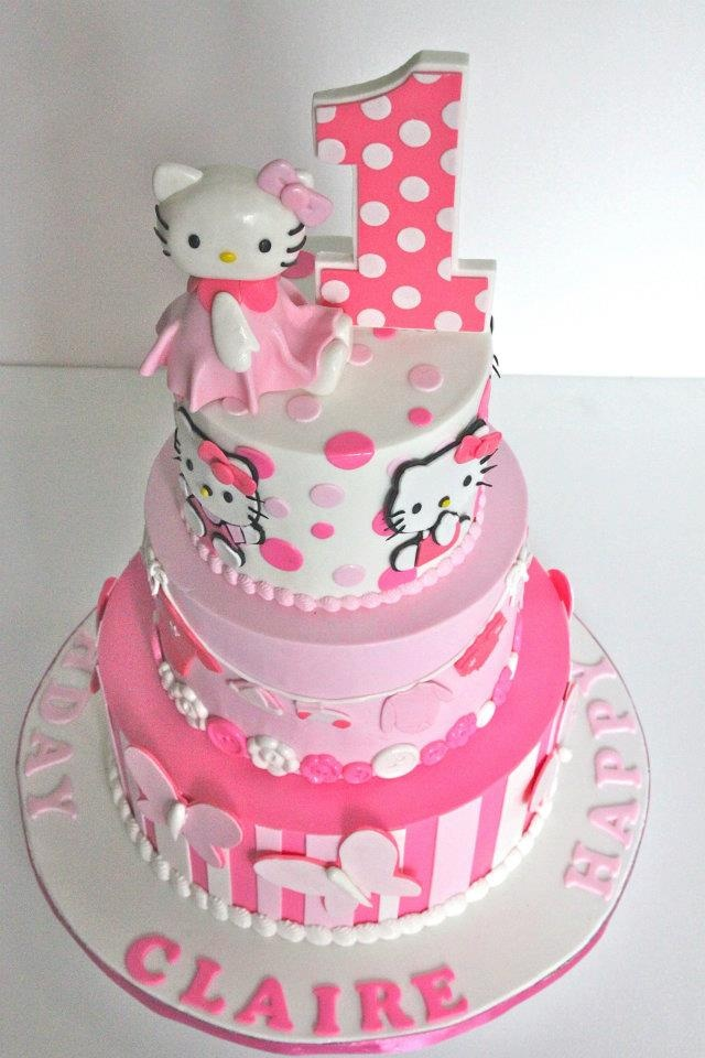 Cake Hello Kitty Pink : 113 best images about Hello kitty cake on Pinterest My ...