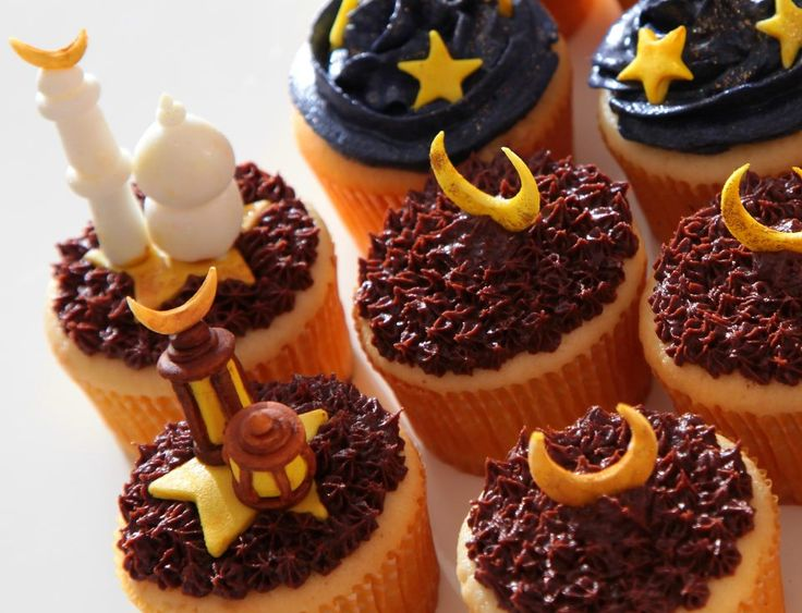 Ramadan Cupcakes #ramadan #cupcakes #ramadancupcakes #sugarlinings
