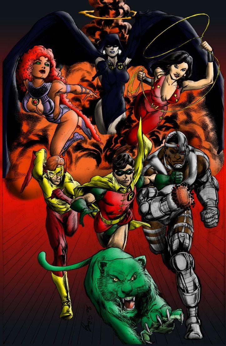 159 besten The New Teen Titans Bilder auf Pinterest   Teen titans ...
