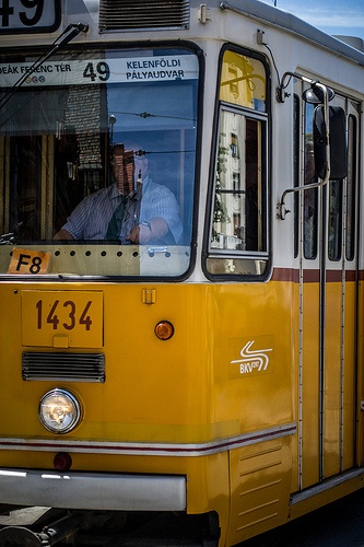 Number 49 Tram of Budapest, Hungary