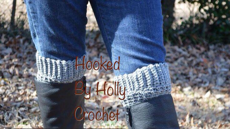 Brooklyn Boot Cuffs Free Crochet Pattern : Boot cuffs Pattern from: http://crochetdreamz.blogspot.com ...