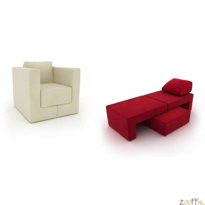 Kare Design Metamorphosis Armstoel - De Kare Design Metamorphosis Armstoel is een zeer comfortabele loungestoel die om te bouwen is naar verschillende soorten meubelstukken. Deze Metamorphosis Armstoel is zowel als bank of als luxe stoel te gebruiken doordat de stoel uit meerdere delen bestaat. De stoel met het comfortabele zitcomfort is voorzien van een bekleding gemaakt van polyester en een frame gemaakt van beukenhout, HDF, OSB materiaal en polyurethaan.De Kare Design Metamorphosis ...