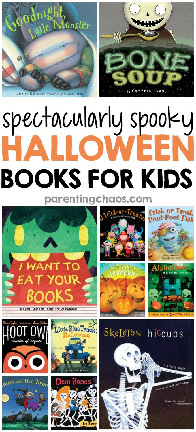 Spectacularly Spooky Halloween Books for Kids