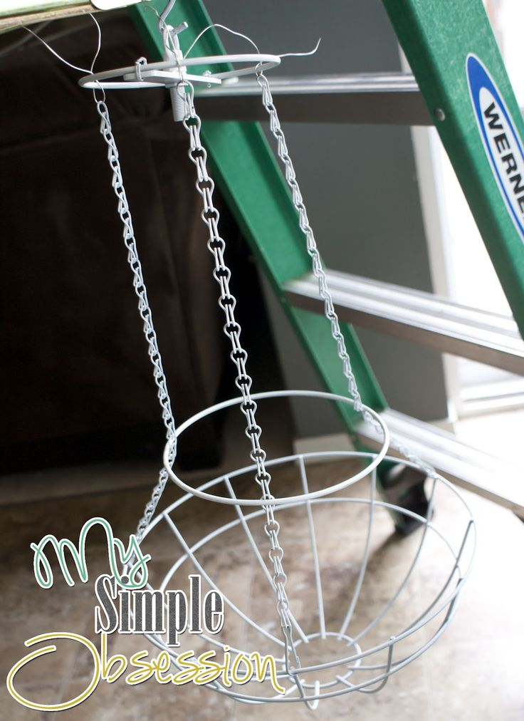 Hey Everyone!      Please Follow along to see how I made the Pottery Barn Inspired Chandelier.