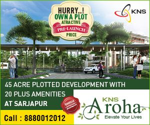 Pre-launch #plots at #sarjapur, #bangalore. visit: http://knsgroup.in/kns-aroha