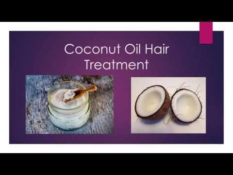 Grow Hair For Men: Coconut Oil Hair Treatment