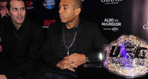 Video – Jose Aldo talks with media members in Las Vegas ahead of UFC 194   TalkingBrawlsMMA.com