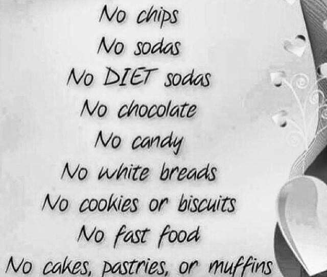 30 day diet challenge.