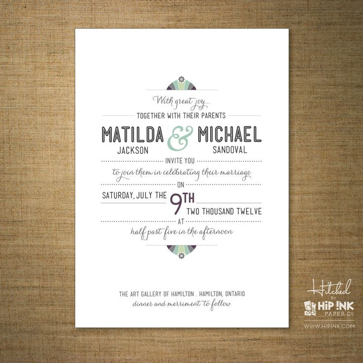 8 best images about Invitaciones on Pinterest - best of wedding invitation card sample design