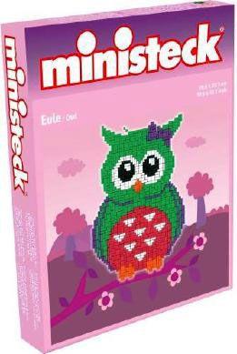 Ministeck uil (groen) - 900 onderdelen - Ministeck
