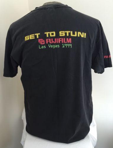 Star-Trek-Las-Vegas-1999-T-Shirt-Set-To-Stun-FujiFilm-Hilton-Trekkie-Experience