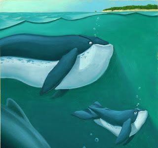 Giacomo Garelli Illustratore: La Balena e il Surfista