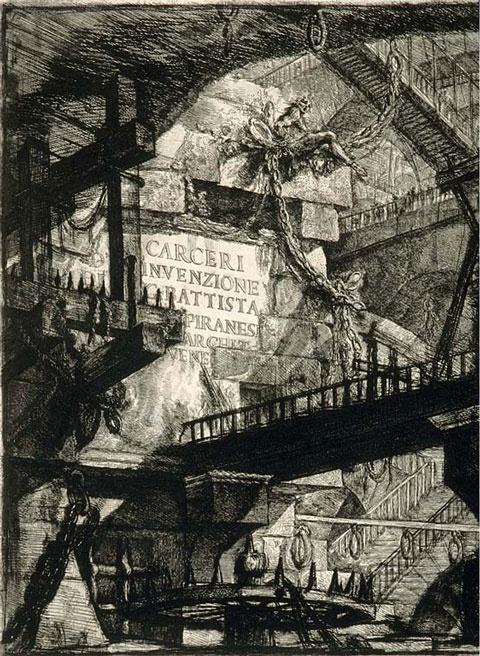 Piranesi's Carceri d'invenzione  www.artexperiencenyc.com
