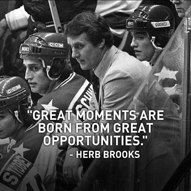 Great Moments Herb Brooks Quotes Quotesgram