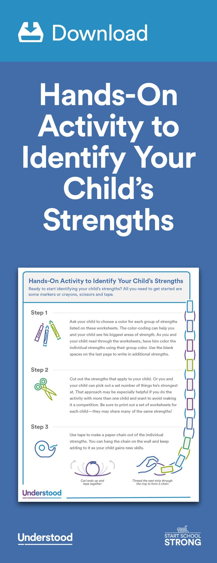 best images about back to school teaching hands on activity to identify your child s strengths