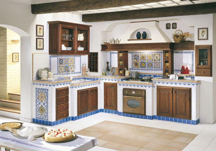 51 best images about cucine in muratura on pinterest for Piani di fattoria moderna piccoli