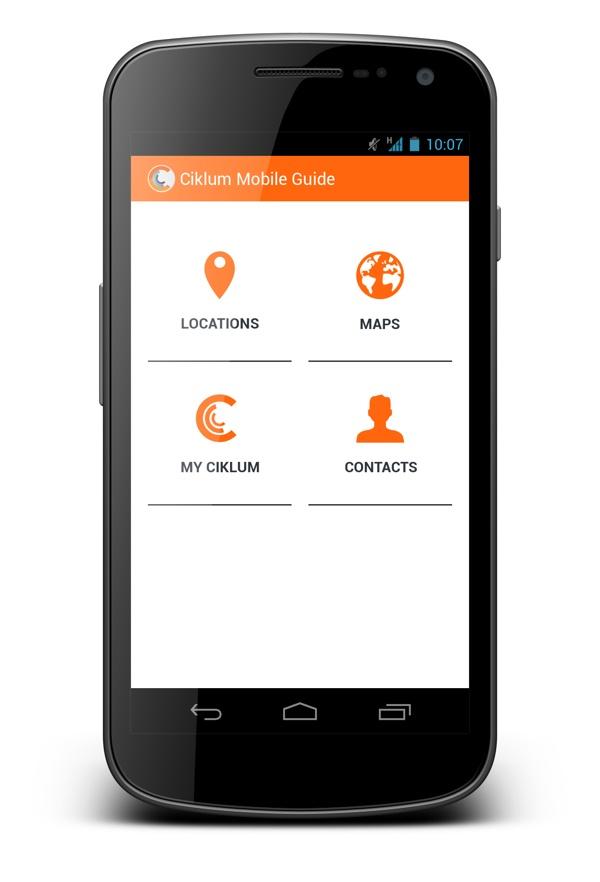 Ciklum Mobile Guide App for Android by Irina Polovina