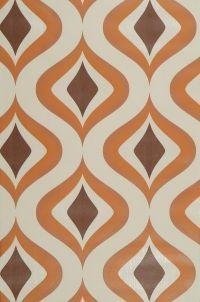 70's wallpaper pattern