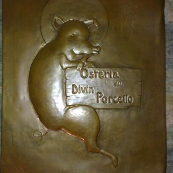 Foto scattata a Osteria Del Divin Porcello da Antonio Maria D. il 12/29/2012