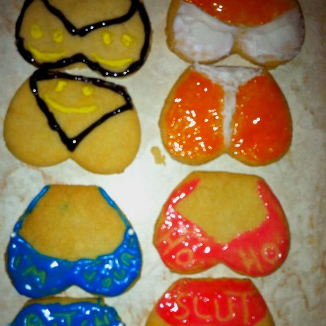 Sexy cookies for sexy people! Haha