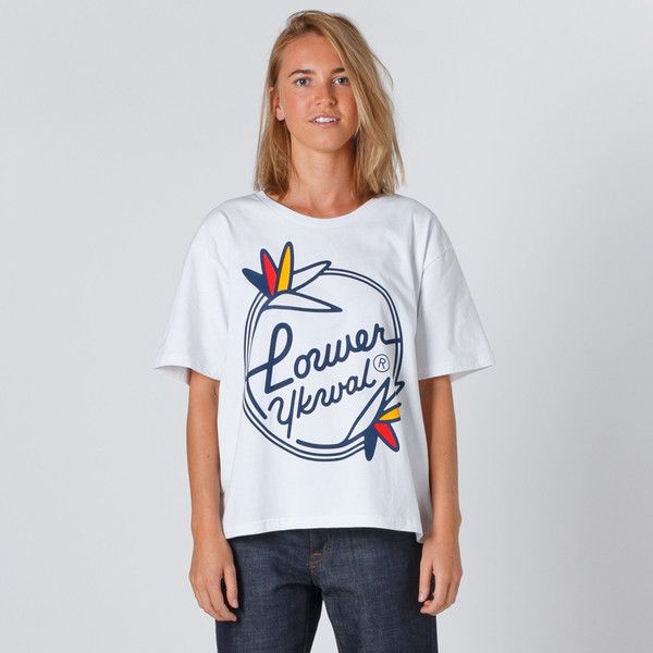 Lower Active Tee Paradise - White