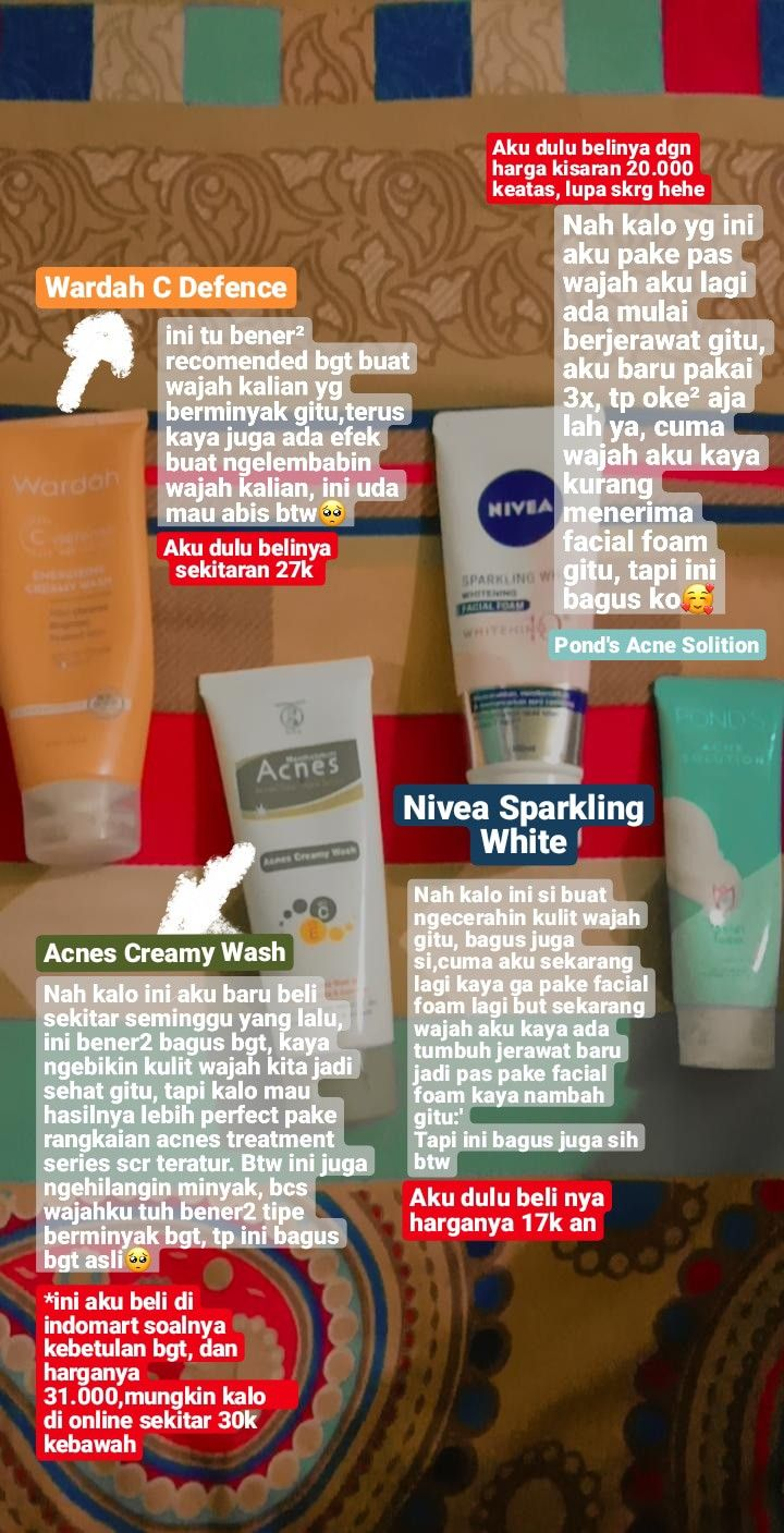 Rangkaian Produk Nivea Sparkling White Dan Harganya : rangkaian, produk, nivea, sparkling, white, harganya, Skincare✨, Perawatan, Kulit,, Produk, Makeup