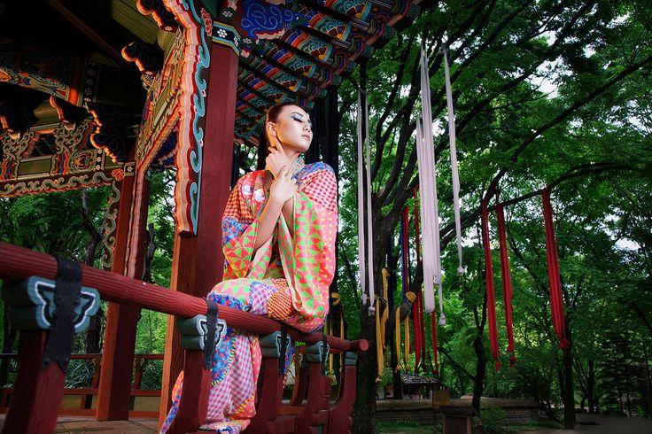Collaboration Work With Emma-Bell / Korea photographer Manchul Kim