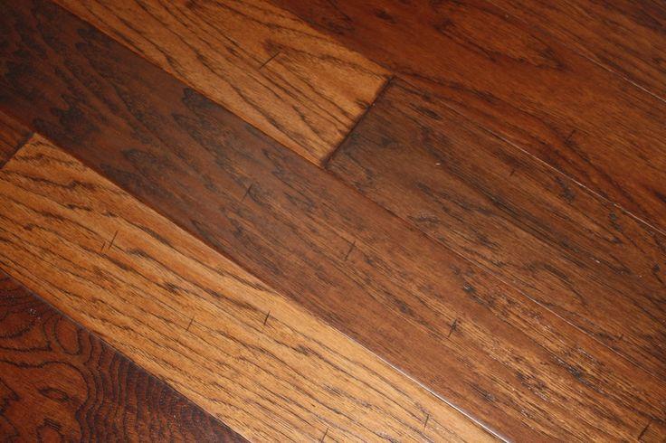 Hickory Suede Hand Scraped Click Lock | Click Lock Hardwood Flooring | WeShipFloors