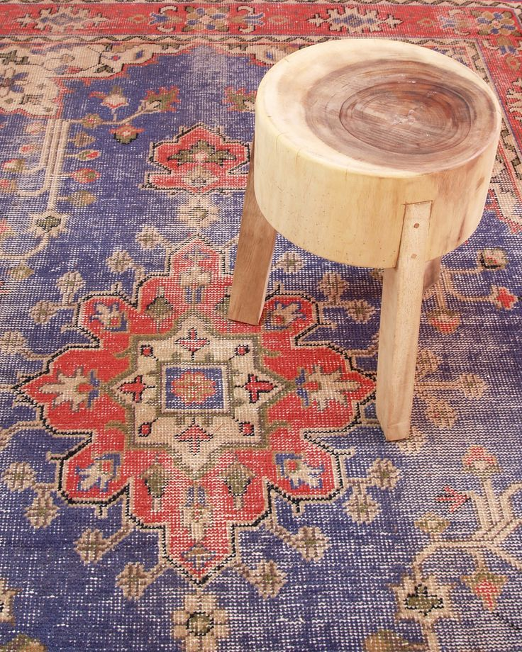 Overdyed rug at STBR.com