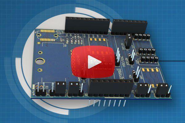 Honeywell's SEK001 sensor evaluation kit is an Arduino shield for demonstrating Honeywell's TruStability RSC series pressure sensors.