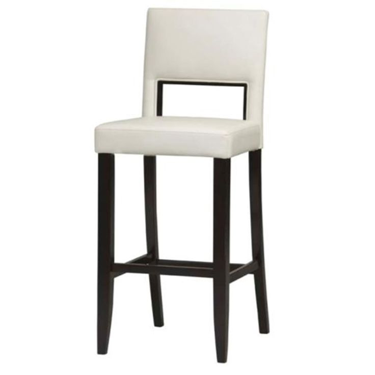 This graphic/mod style will look great a midcentury modern dining room. Vega White Counter Stool | Weekends Only Furniture and Mattress